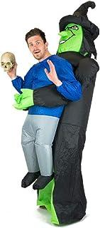Bodysocks® Disfraz Hinchable de Bruja Adulto