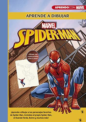 Aprende a dibujar a Spider-Man (Crea, juega y aprende con Marvel): ¡Aprende a dibujar a tus personajes favoritos!