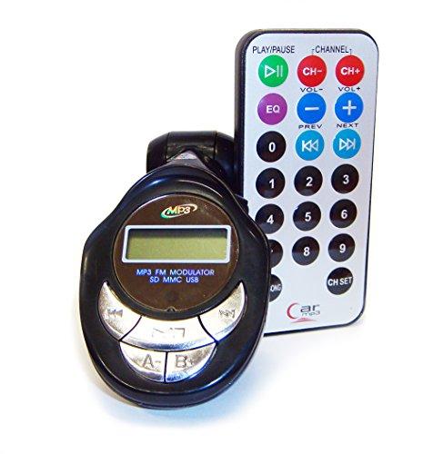 ITAL transmisor mechero para radio coche FM125 / usb pen drive mp3 tarjetas SD / adaptador con mando a distancia para escuchar musica por los altavoces de los coches