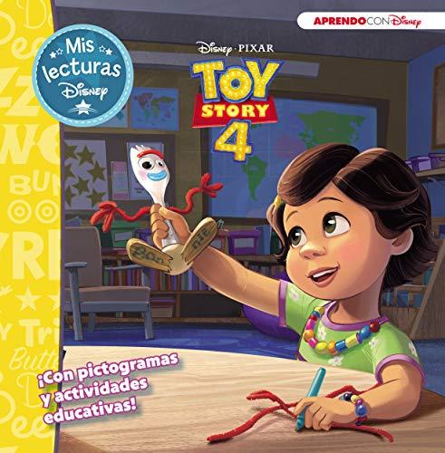 Toy Story 4 (Mis lecturas Disney): Con pictogramas y actividades educativas