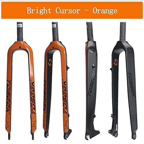TIANPIN fiets harde vork, ultralichte massief koolstofvezel, 26 inch 27,5 inch 29 inch mountainbike volledig carbonvork rechte buis