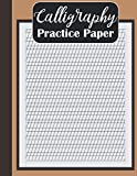 Calligraphy Practice Paper: 110 Sheets in 3:2:3 Ratio with 55 Degrees Slant Lines: Slanted Calligraphy Paper And Workbook For Lettering Artist, Beginners (Calligraphy Guide Paper )