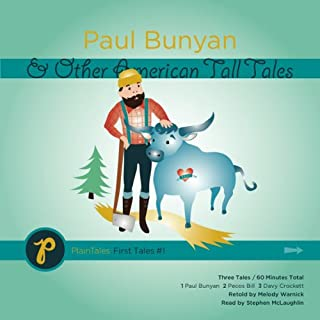 Paul Bunyan and Other American Tall Tales audiobook cover art