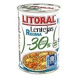 Litoral Lentejas Riojana 30 % - 425 gr...