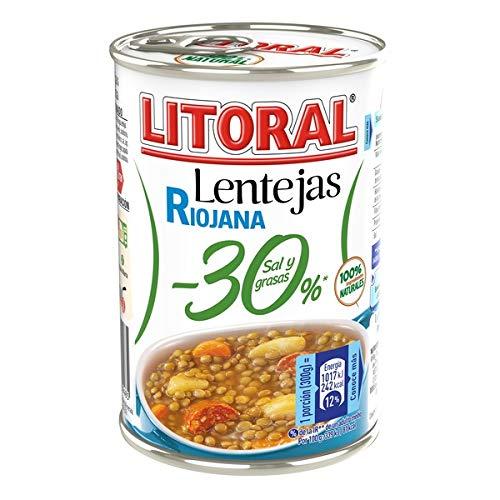 Litoral Lentejas Riojana 30 % - 425 gr