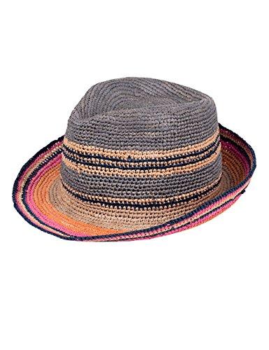 CAPO Unisex Fedoras Havana Hat, Braun (Colorful Mix 24), Large (Manufacturer Size:L/XL)