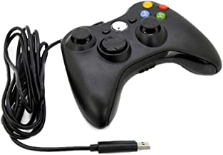 Usb Wired Gamepad Game Joy Stick For Xbox 360 Windows 7 PC Game Controller Black
