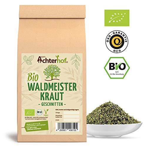 Waldmeister Tee BIO | 100g | 100% Bio Waldmeisterkraut getrocknet ohne Zusätze | vom Achterhof