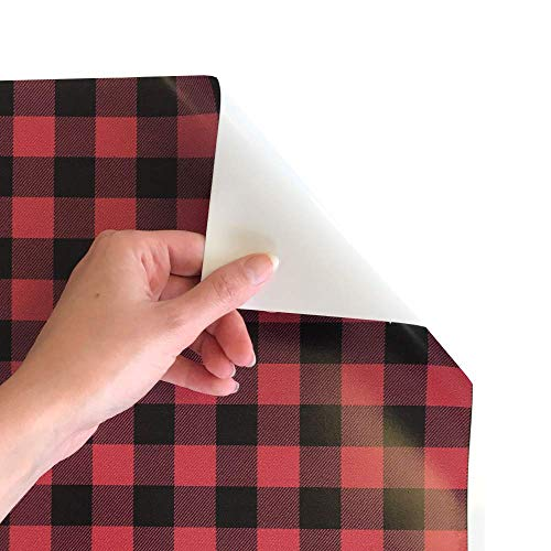 Top htv vinyl red plaid for 2020