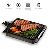 BEST DIRECT Starlyf Parrilla eléctrica/Placa extra 1250 W Cocinar Barbecue (Parrilla Eléctrica)