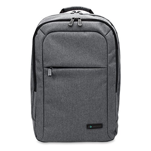 13 Inch MacBook Air/Pro Laptop CaseCrown Waltham Backpack (Gray) w/Padded Compartment