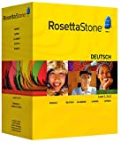 Rosetta Stone V3: German Level 1,2,3,4,5 Set with Audio Companion---old Version