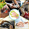 Hand Grip Strengthener, Finger Exerciser, Grip Strength Trainer (6 PCS) NEW MATERIAL Forearm grip workout, Finger Stretcher, Relieve Wrist & Thumb Pain, Carpal tunnel, Great for Rock Climbing and More #4