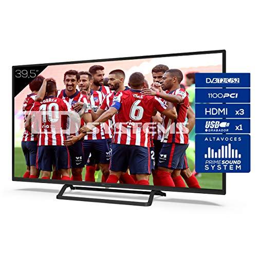 TD Systems 3 x HDMI-Fernseher, VGA, USB, 1100 PCI Hz, Recorder, DVB-T2/C/S2, Hotelmodus - K40DLX11F 40 Zoll, 39,5 pulgadas Full hd (k40dlx11f)