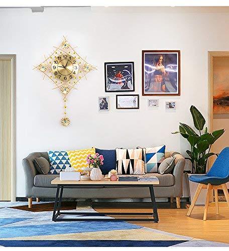 ZXL creatieve wandklok voor woonkamer moderne stijl minimalistisch Europese horloges en horloges voor slaapkamer klok kwarts Muto