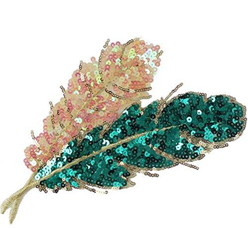 Outflower Flicken zum Aufnähen, für Kleidung, Bastelzubehör, Blumenform, 7 Stück