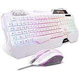 Havit Keyboard Rainbow Backlit Wired Gaming...