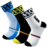 Yijiujiuer Men's Cycling Socks Sports Running...