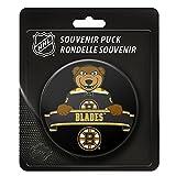 Boston Bruins Team Mascot NHL Souvenir Puck -