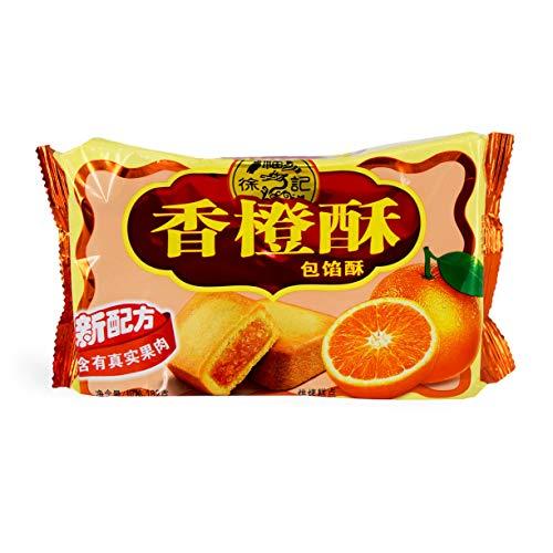 XuFuJi Cookie 徐福记 香橙酥 Orange Flavor Cookie 182g (pack of 2)