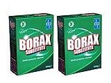 2 x BORAX SUSTITUTO un limpiador multiusos eficaz y biodegradable Limpiador general y limpiador de...
