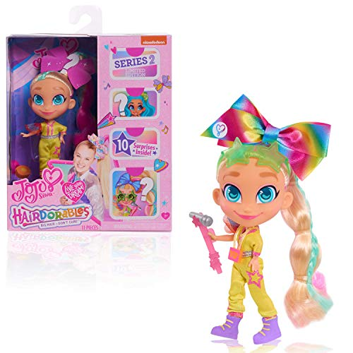 JoJo Siwa JoJo Loves Hairdorables Limited Edition Collectible Doll, Multi-color