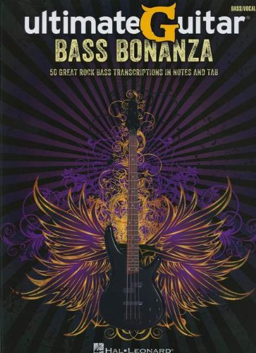 UltimateGuitar: Bass Bonanza (Bass Recorded Versions) by Various (17-Jan-2013) Paperback
