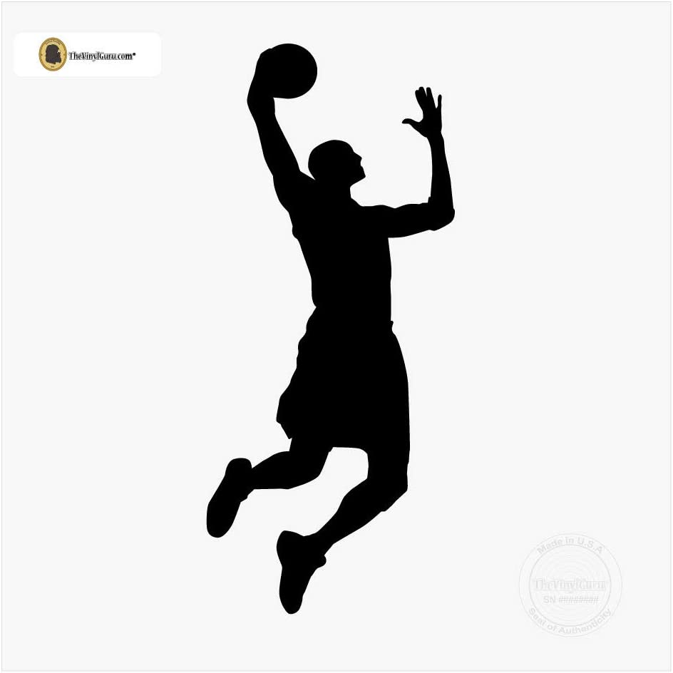 8x12 FT Sports Vinyl Photography Backdrop,Basketball Players Dribbling Dunking Floater Vibrant Colored Uniforms Sportsmanship Background for Baby Birthday Party Wedding Graduation Home Decoration