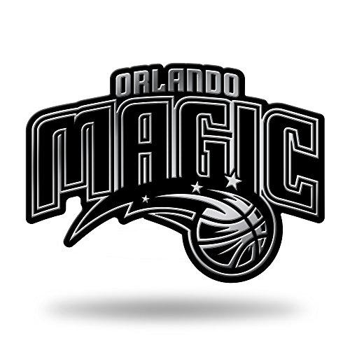 NBA Rico Industries Chrome Finished Auto Emblem 3D Sticker, Orlando Magic