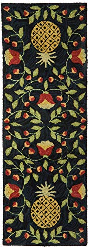 Park Designs Pineapple Hooked Rug Runner, 24 x 72
