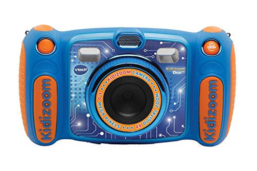 Vtech Kidizoom Duo 5.0 Digitale Kamera für Kinder, 5 MP, Farbdisplay, 2 Objektive, Englische Version,...