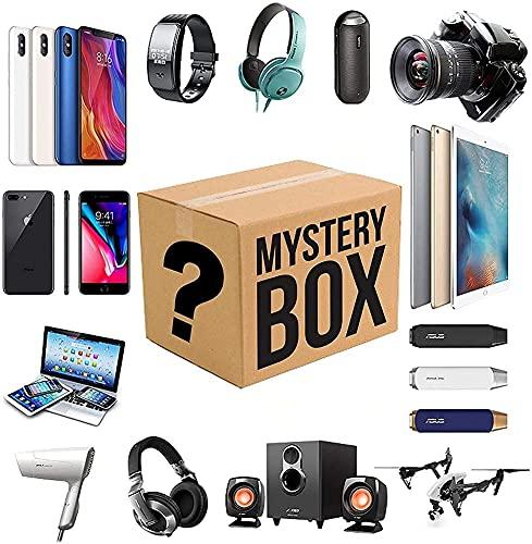 Caja Misteriosa, Es Un Buen Regalo. Existe La Posibilidad De Abrir: Los Últimos Teléfonos Móviles, Drones, Relojes Inteligentes, Etc, Todo Lo Posible, Todos Los Artículos Son Nuevos