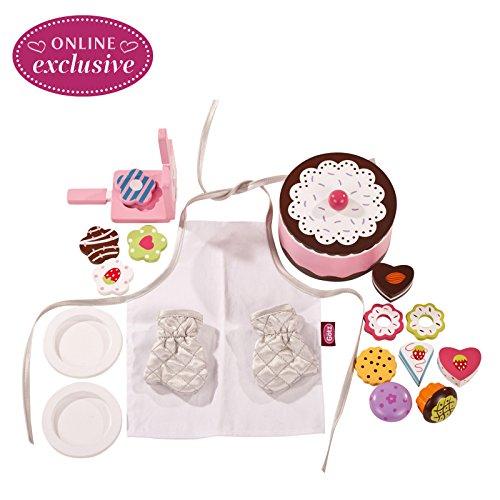 Götz 3402329 Bäckerei Sweet Delight - Geburtstagsbäckerei - Backe mit deiner Puppe für den Großen Tag - für Stehpuppen zwischen 45 cm und 50 cm - geeignet für Kinder ab 3 Jahren