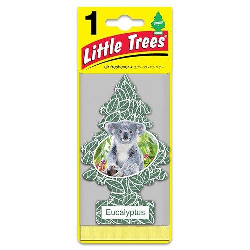リトルツリー エアフレッシュナー「ユーカリ」 /Little Trees/クルマ用芳香剤/吊り下げタイプ/アメリカ製/