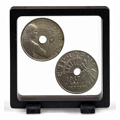 200 Piezas Hicarer 40 mm de C/ápsulas de Monedas Transparente Funda de Moneda Redondo Materiales de Collecci/ón de Monedas
