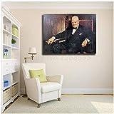 A&D Winston Churchill Wallpaper HD Wandkunst Leinwand