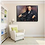 Winston Churchill Wallpaper HD Wandkunst Leinwand Poster