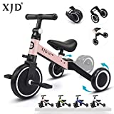 XJD 3 in 1 Kids Tricycles for 1-3 Years Old Kids Trike 3 Wheel Toddler...