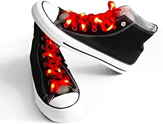 Light Up Shoelaces with 3 Flashing Modes Lighting for Night Party Hip-hop Dancing Cycling Hiking Skating Running