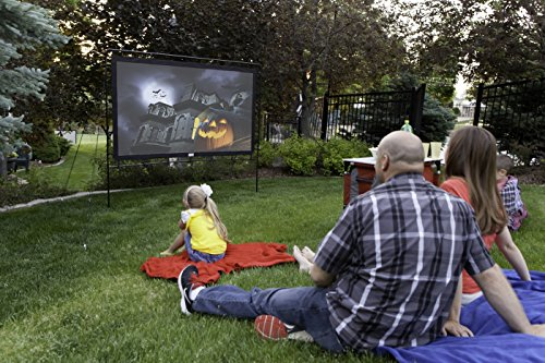 Camp Chef Outdoor Entertainment Gear Outdoor Big Screen 92″ Lite Portable Movie Screen 92″ visualización…