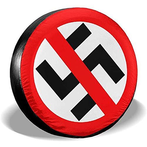 Du-shop No Nazi Anti Nazi Staubdicht wasserdichte Reifenabdeckung Reserverad Reifenabdeckung Passend
