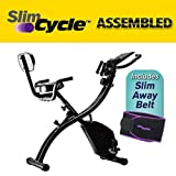As Seen On TV 3-in-1 Slim Cycle Upright and Recumbent Stationary Bike -...