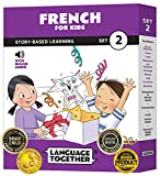 French for Kids Set 2: 10 Beginning French Reader Books with 100 More First...