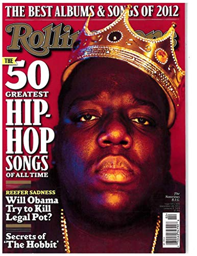 Rolling Stone Magazine Cover Poster, Notorious B.I.G, stampa musicale, 30 cm x 43 cm
