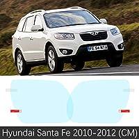 Hyundai Santa Fe 2007 ? 2019 センチメートル DM TM ix45 45 フルカバーアンチフォグフィルムバックミラーアクセサリー santafe 2010 2015 2017 2018-Santa Fe 10-12(CM)