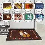 Jago Fußmatte für Eingangsbereiche - in acht verschiedenen Designs und