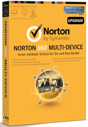 Norton 360 Multi-Device - 3 Geräte - Upgrade (PC, MAC, Android) [import allemand]
