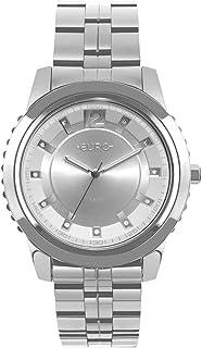 Relógio Euro Feminino Metal Glam Prata