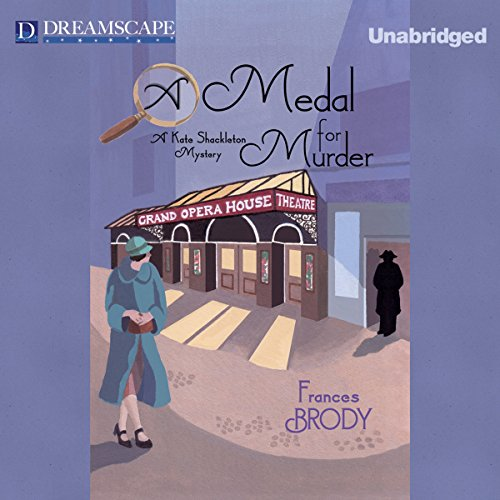 A Medal for Murder audiobook cover art