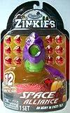 Squinkies Zinkies Space Alliance 12 Zinkies 14 Piece...